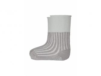 Ponožky froté protiskluz Outlast® 15-19, tm.šedá
