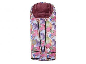 Fusak Exclusive tisk MAZLÍK Outlast® 45x90cm,50x100cm  růžová kytky/starorůžová