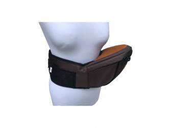 HIPSEAT BOB - ergonomické poponášedlo, Chocolate Brown