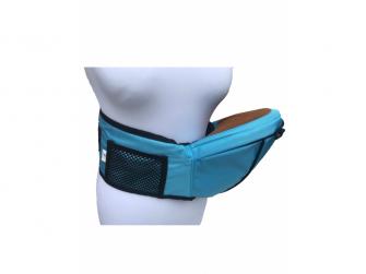 HIPSEAT BOB - ergonomické poponášedlo, Light Blue