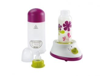 Ohřívačka kojeneckých lahví EXPRES šedá/modrá 2