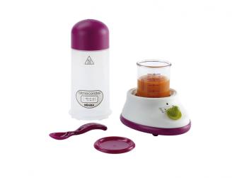 Ohřívačka kojeneckých lahví EXPRES šedá/modrá 3