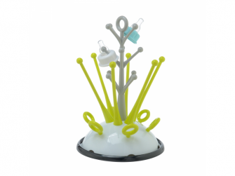 Odkapávač kojeneckých lahví neon 2