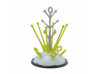 Odkapávač kojeneckých lahví neon 3