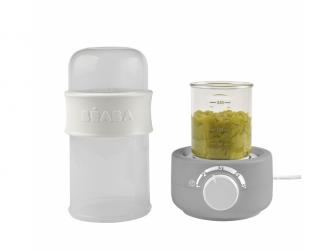 Ohřívačka kojeneckých lahví Babymilk Second šedá 3