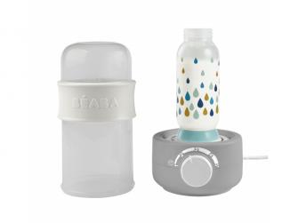 Ohřívačka kojeneckých lahví Babymilk Second šedá 4