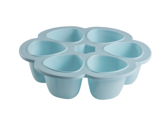 Multi-dávkovač na jídlo 6x90ml modrý 3
