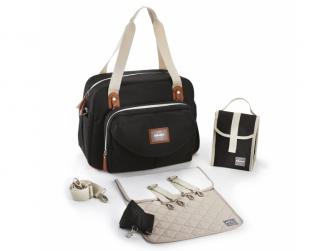 Přebalovací taška Geneva Black 3
