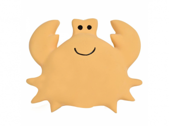 Ocea Buddies - chrastítko a kousátko z přírodního kaučuku, krab
