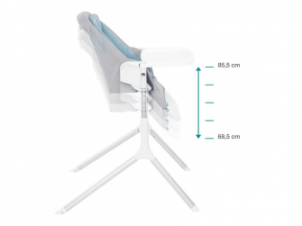 jídelní židlička SLICK 3