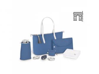 přebalovací taška Le Champs Elysées BLUE 2