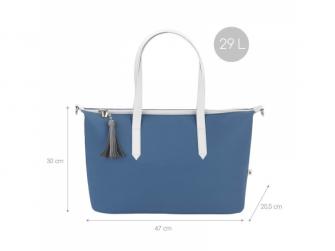 přebalovací taška Le Champs Elysées BLUE 3