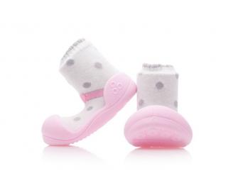 Botičky Ballet Pink XL 3