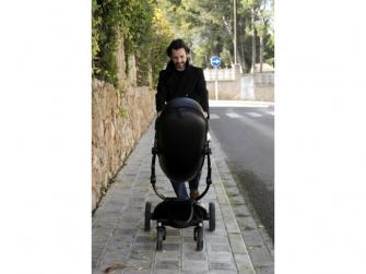 Xari kočárek 3G - sedák s korbou černý 13