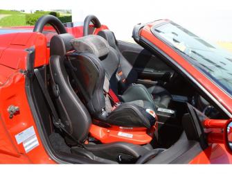 Autosedačka ISOFIX GLIDER (9-18) CARBON RACE RED 10