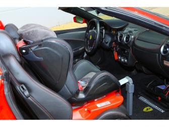 Autosedačka ISOFIX GLIDER (9-18) CARBON RACE RED 11