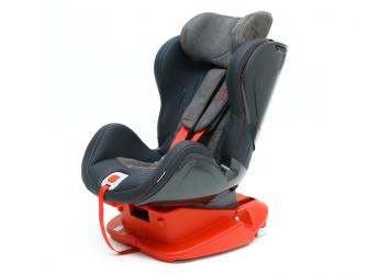Autosedačka ISOFIX GLIDER (9-18) CARBON RACE RED 4