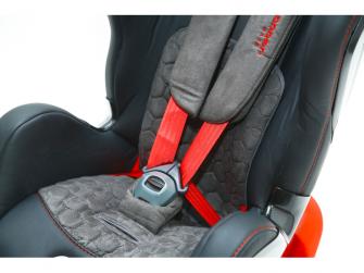Autosedačka ISOFIX GLIDER (9-18) CARBON RACE RED 6