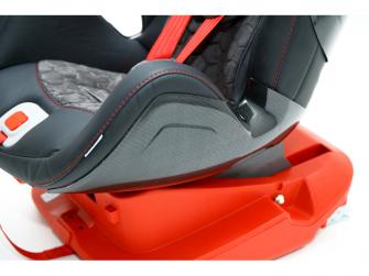 Autosedačka ISOFIX GLIDER (9-18) CARBON RACE RED 7