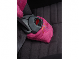 Autosedačka ISOFIX GLIDER 2 SOFTY (9-25) 2018 černá / růžová 3