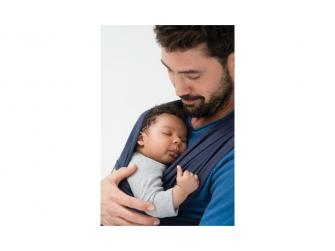 TRICOT-SLEN šátek na nošení dětí col. 934 black organic 2
