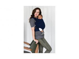 TRICOT-SLEN šátek na nošení dětí col. 945 navy blue organic 2