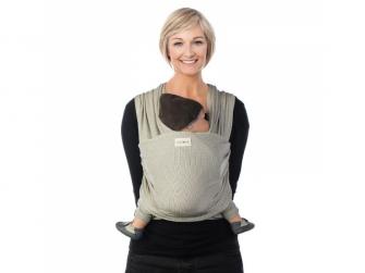 TRICOT-SLEN Design šátek na nošení dětí col. 601 white stipple