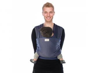 TRICOT-SLEN Design šátek na nošení dětí col. 602 blue stipple