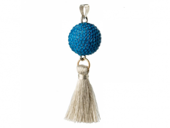 BOLA blue with tassle