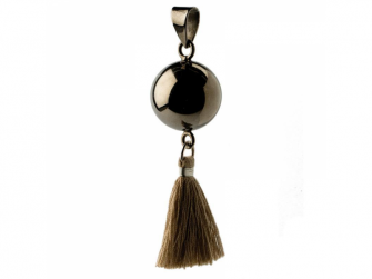 BOLA black with tassle