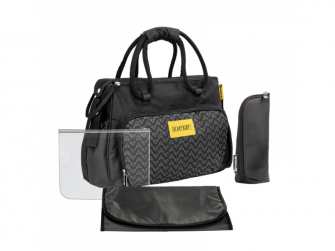 Přebalovací taška BOHO Black 2
