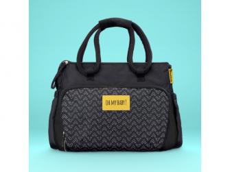 Přebalovací taška BOHO Black 4