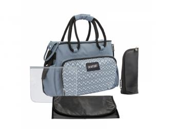 Přebalovací taška BOHO Grey 2