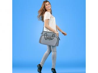 Přebalovací taška BOHO Grey 5