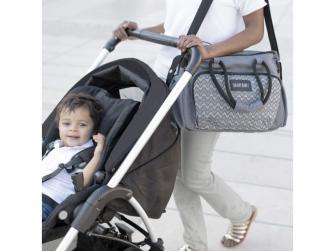 Přebalovací taška BOHO Grey 6