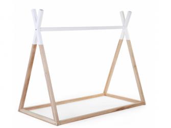Postel Tipi stan konstrukce Natural White 70x140cm