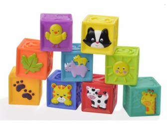 Měkké  hrací kostky