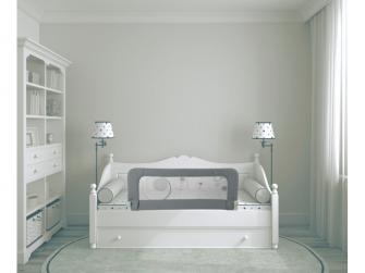 zábrana na postel B-Bedrail Grey 2