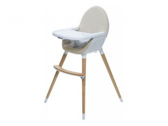 Jídelní židlička FIKA béžová