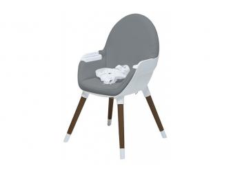 Jídelní židlička FIKA tmavě šedá 3