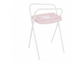 Kovový stojan Click na vaničku 103cm Pretty Pink