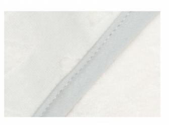 Ručník s kapucí froté Fabulous Shadow White 2