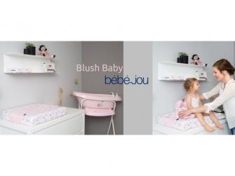 Froté návlek na malou podložku Blush Baby 2