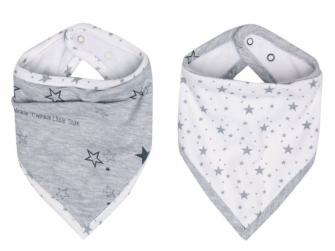 Bandana slintáček Little Star 2ks