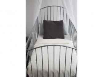 Dětská deka Mira 75x100 cm - Fabulous cloud grey 2