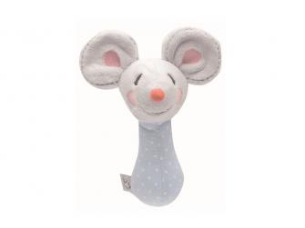 Plyšové štěrchátko myška Little Mice