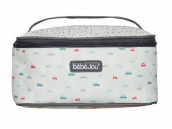 Beautycase kosmetická taška s odepínacím víkem Wheely 2