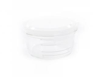skleněné misky s víčky B-GLASS BOWLS 280ml White/Grey/Blue 2