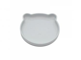 silikonový talíř s přísavkou Bear Grey 2