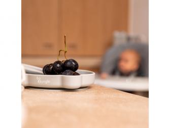 silikonový talíř s přísavkou Bear Grey 6